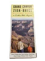 Vintage Brochure Grand Canyon Zion Bryce National Parks Southern Utah Arizona 49