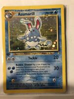 1st Edition Azumarill 2/111 Neo Genesis Holo Rare Pokemon Card - Played