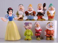 figurines blanche neige et les 7 nains cake topper déco gateau