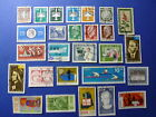 LOT 641 TIMBRES STAMP DIVERS ALLEMAGNE DDR ANNEE 1957 - 1967