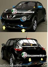 Nissan Juke 2014 cover marcos parachoques delantero+trasero +de color azul