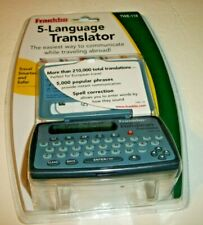 Franklin 5-Language European Translator Twe-118 See Pic's New/Sealed!