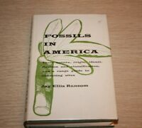 FOSSILS IN AMERICA by Jay Ellis Ransom 1964 FIRST EDITION First Printing