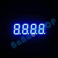 "New 0.36"" 0.36 inch 7 Segment Display Blue LED 4 Digit Common Cathode"