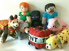 Large Minecraft Plush 11- 23' Stuffed Animal Toys .New. Licensed. Rare