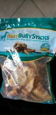 Best Bully Sticks All Natural 20 Pack Made in USA Tasty Hours of Delicious Ears