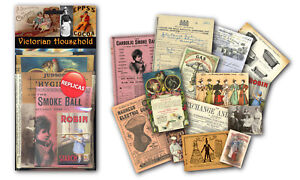 Victorian Household Memorabilia Pack with over 20 pieces of Replica Artwork