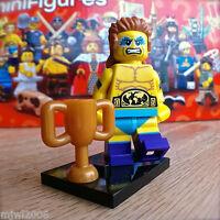 LEGO 71011 Minifigures SERIES 15 WRESTLING CHAMPION #14 SEALED Minifigs Wrestler