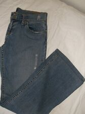 """""""ABS"""" JEANS DISTRESSED STRETCH BOOT CUT"""