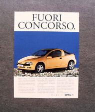 [GCG] L304- Advertising Pubblicità -1998- OPEL TIGRA , FUORI CONCORSO