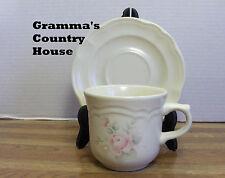 Pfaltzgraff TEA ROSE Coffee / Tea Cup and Saucer