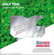 OFFICIAL ROYAL AIR FORCE RED ARROWS GOLFING ACCESSORIES GIFT PACK