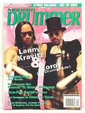 MODERN DRUMMER MAGAZINE LENNY KRAVITZ ZORO CLARENCE PENN CYRUS BOLOOKI 2004 RARE