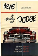 [62366] 1949 DODGE AUTOMOBILES SALES BROCHURE (ONTARIO, CALIFORNIA DEALER)