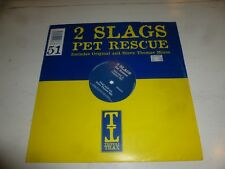 "2 SLAGA - Pet Rescue - UK 2-track 12"" Vinyl Single"