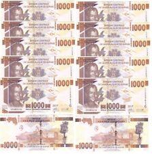 Guinea - 10 pcs x 1000 Francs 2017 UNC Lemberg-Zp