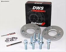 SPACERS 5X110 - 17 MM DWS for Alfa 159 - BRERA - SPIDER with SCREWS