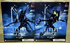 LURKER #1 & SPITTER #2 ALIENS Square Enix Play Arts Kai COLONIAL MARINES FIGURE