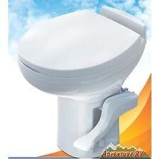 Thetford RV Camper Residence High Profile Toilet White Foot Flush 42169 42161