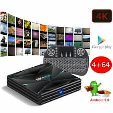 Android 9.0 PIE Smart TV Box Media TV Player USB HDMI WiFi 4K HK1 Play 64GB