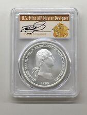 99.9/% Silver w// BOX /& COA 2018 George Washington Presidential Silver Medal 1 oz