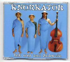 Knorkator Maxi-CD Ick Wer Zun Schwein - 4-track CD - ESC Eurovision 2000 Germany