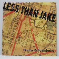 LESS THAN JAKE - Borders & Boundaries LP 2000 US ORIG Fat Wreck MxPx NOFX NUFUN