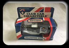 Matchbox AFL Club Car 1995 Ford Model A Collingwood Magpies
