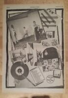 Jam All Mod cons tour  1978 press advert Full page 28 x 39 cm poster