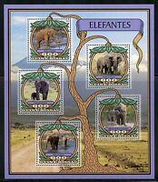 GUINEA  BISSAU 2016 ELEPHANTS  SHEET MINT NH