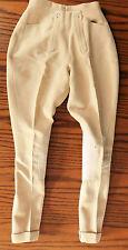 Vintage 1960s Jodhpur Bernard Weatherill Cintura 24 Pantalones De Montar Equitación Childs Damas