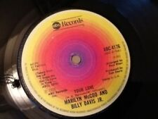 MARILYN McCOO AND BILLY DAVIS JR. YOUR LOVE / MY LOVE FOR YOU ( WILL ALWAYS BE