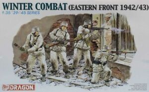 Dragon DML 1:35 Winter Combat Eastern Front 1942/43 Plastic Figure Kit #6154U