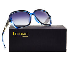 Leckirut Women Shades  Oversized Polarized Sunglasses 100% UV Protection Eyewear