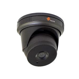 4MP AHD CCTV Dome Turret Camera 1080p Grey 3.6mm Lens 25m IR Nightvision Range