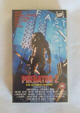 Predator 2 VHS RARE