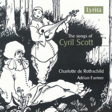 Cyril Scott : The Songs of Cyril Scott CD (2018) ***NEW***