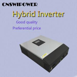 Hot selling 5000VA MPPT solar charger controller hybrid inverter