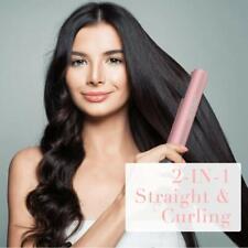 UMICKOO Women's 2-in-1 Hair Straightener Flat Iron for Straightening & Curling