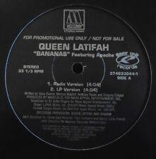 """QUEEN LATIFAH feat APACHE ~ Bananas ~ 12"""" Single USA PRESS PROMO"""