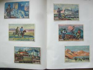 Erdal-Bildreihen Hedin Tibetreise (*TOP*) 6 Sammelbilder Erdal Kwak Serie Nr. 32