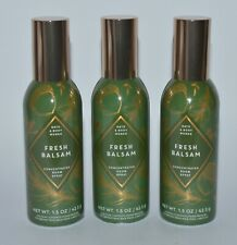 3 BATH & BODY WORKS FRESH BALSAM CONCENTRATED ROOM SPRAY PERFUME MIST FRESHENER