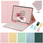For iPad 5/6/7/8th Air Pro 11in Bluetooth Keyboard Mouse With Stand Case Cover