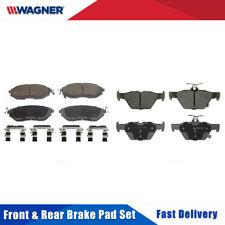 Front & Rear 8 PCS Wagner Ceramic Disc Brake Pad Set For SUBARU LEGACY 2015-2016