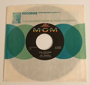 The Animals / I'm Crying & Take It Easy Baby / Original 1964 MGM 45 NM+