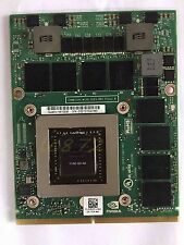 DELL Precision M6800 NVIDIA QUADRO K4100M 4GB GDDR5 Video Card N15E-Q3-A2 Tested