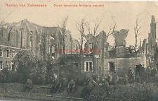 Ak, Wk1, Ruinen von Zonnebeke (N)1841