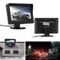 """4.3"""" TFT LCD Car Rearview Monitor + Backup Reverse Night Vision Camera Kit"""