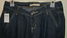 Nwt BLUE ASPHALT low rise dark sandblasted cotton jeans 1 jr. ladies $42 retail