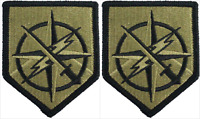 2 Pack U.S. Army 648th Maneuver Enhancement Brigade OCP Hook Military Patches